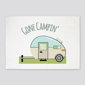 Gone Campin 5'x7'Area Rug