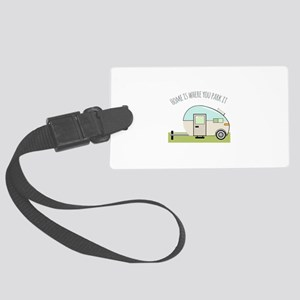 Home Park Luggage Tag