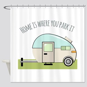 Home Park Shower Curtain