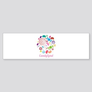 Candy Land Bumper Sticker
