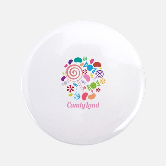 "Candy Land 3.5"" Button"