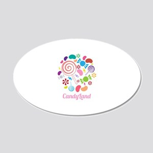 Candy Land Wall Decal