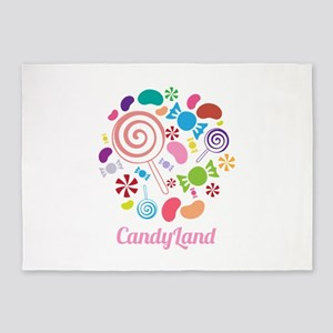Candy Land 5'x7'Area Rug