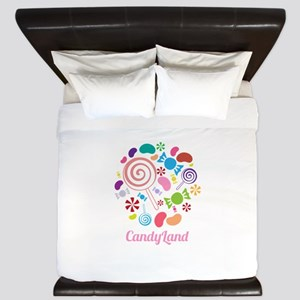 Candy Land King Duvet