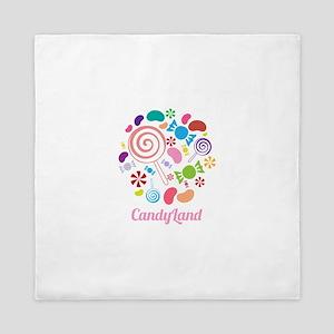 Candy Land Queen Duvet