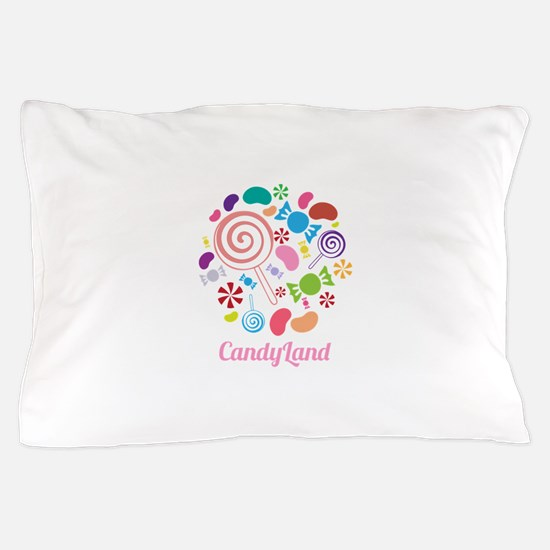 Candy Land Pillow Case