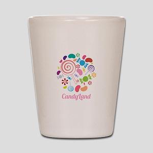 Candy Land Shot Glass