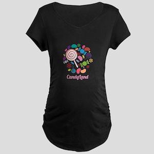 Candy Land Maternity T-Shirt