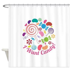 Candy Shower Curtains