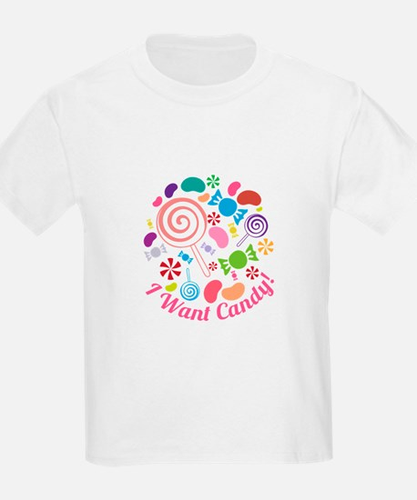 I Want Candy T-Shirt