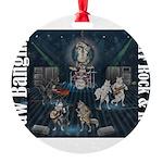 Paw Banging, RuFF, Rock Roll Ornament