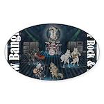 Paw Banging, RuFF, Rock Roll Sticker
