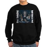 Paw Banging, RuFF, Rock Roll Sweatshirt