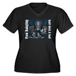 Paw Banging, RuFF, Rock Roll Plus Size T-Shirt