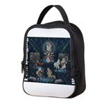 Paw Banging, RuFF, Rock Roll Neoprene Lunch Bag
