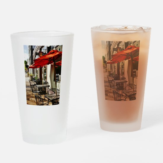 FULL CITY CAFE Drinking Glass