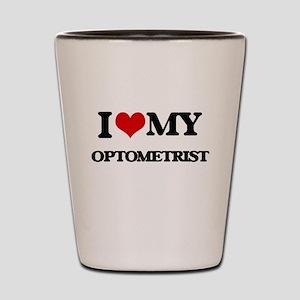 I love my Optometrist Shot Glass