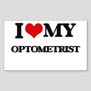 I love my Optometrist Sticker