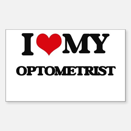 I love my Optometrist Decal
