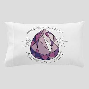 February Amethyst Pillow Case