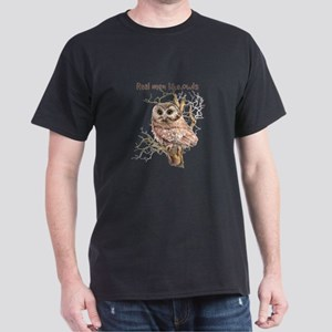 Real men like Owls Humor Bird Quote T-Shirt