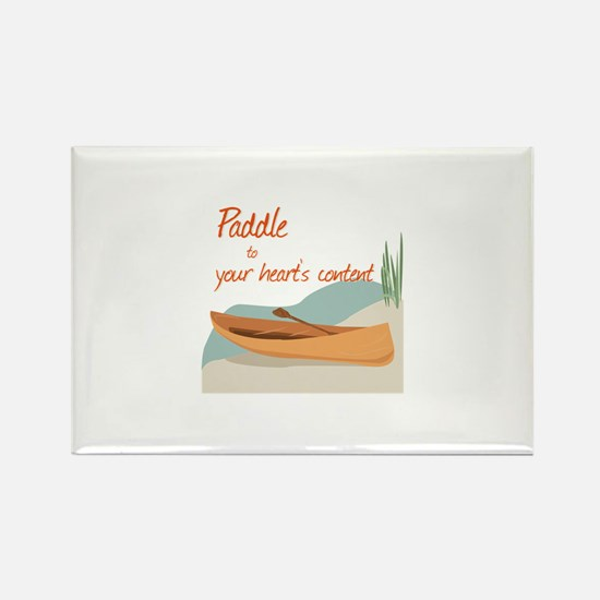Paddle Hearts Magnets