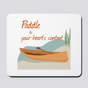 Paddle Hearts Mousepad