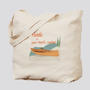 Paddle Hearts Tote Bag