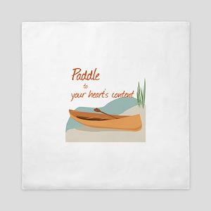 Paddle Hearts Queen Duvet