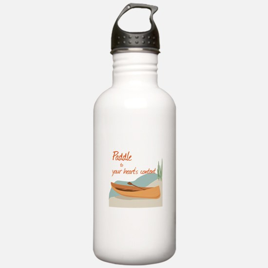 Paddle Hearts Water Bottle