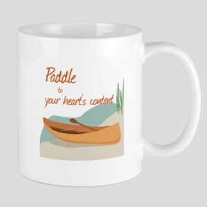 Paddle Hearts Mugs