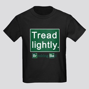 Tread Lightly Breaking Bad Kids Dark T-Shirt
