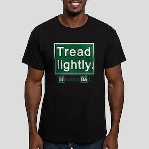 Tread Lightly Breaking Men's Fitted T-Shirt (dark)
