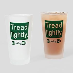 Tread Lightly Breaking Bad Drinking Glass