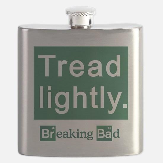 Tread Lightly Breaking Bad Flask