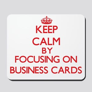 Business Cards Mousepad
