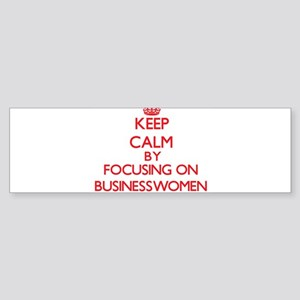 Businesswomen Bumper Sticker