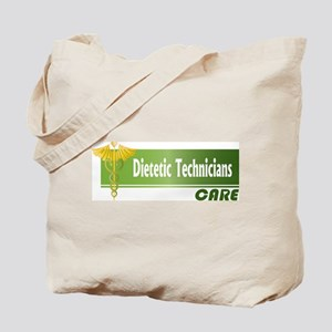 Dietetic Technicians Care Tote Bag