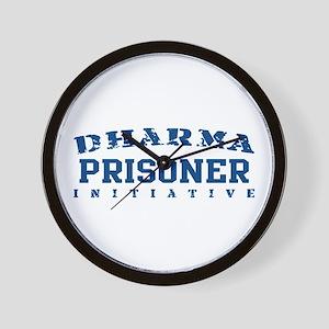 Prisoner - Dharma Initiative Wall Clock
