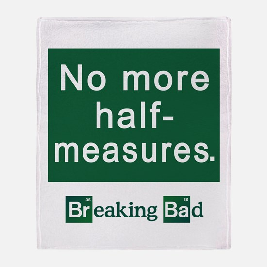 No More Half-Measures Throw Blanket