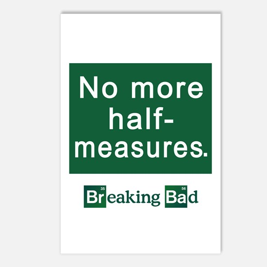 No More Half-Measures Postcards (Package of 8)
