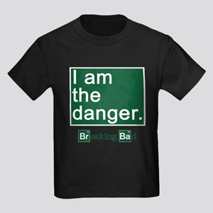 BREAKING BAD: I Am the Danger Kids Dark T-Shirt