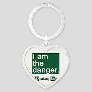 BREAKING BAD: I Am the Danger Heart Keychain