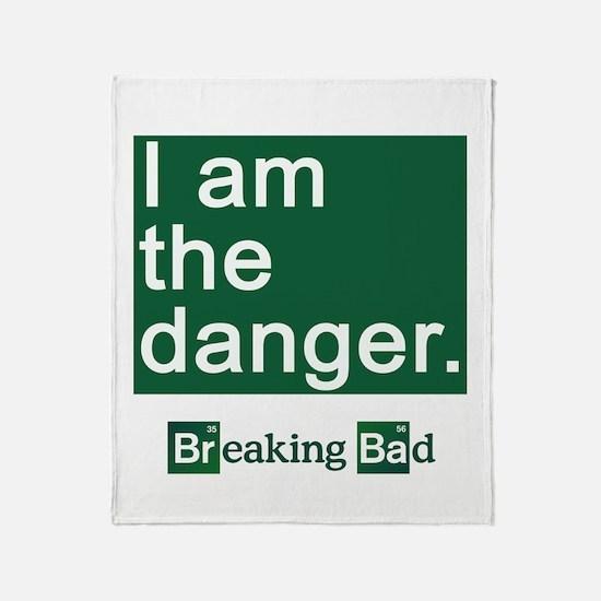 BREAKING BAD: I Am the Danger Throw Blanket