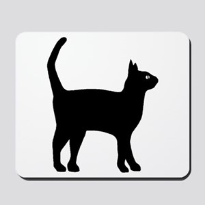 Cat Silhouette Mousepad