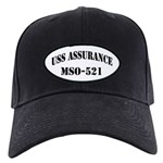 USS ASSURANCE Black Cap with Patch