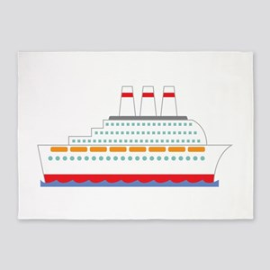 Cruise Ship 5'x7'Area Rug