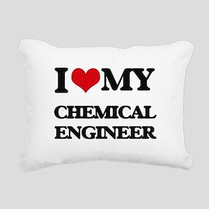I love my Chemical Engin Rectangular Canvas Pillow