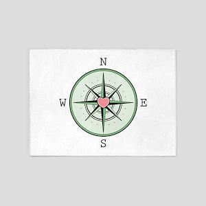 Compass 5'x7'Area Rug