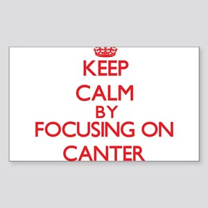 Canter Sticker